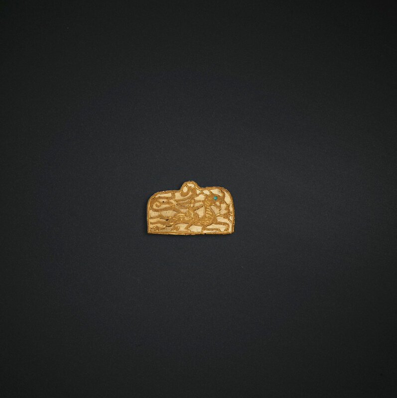 2019_NYR_18338_0528_001(four_small_gold_ornaments_eastern_han-six_dynasties_period_1st-4th_cen)