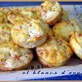 Mini bouchées citronnées au saumon