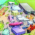 Un parc d'attraction ayant pour thème la bd dans l'agglomération d'angoulême