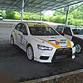 Jean-Paul terral Mitsubishi lancer evo 10 r4