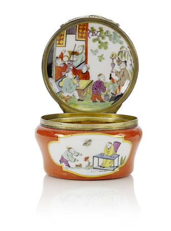 An_extremely_rare_Meissen_silver_gilt_mounted_red_ground_circular_snuff_box1