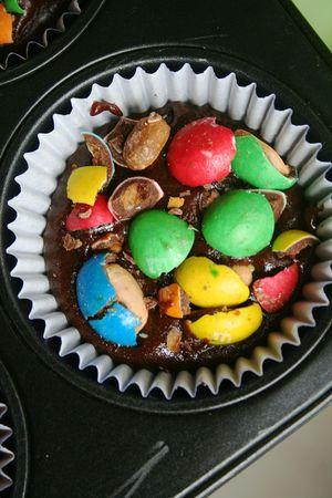 brownies au M&Ms 1