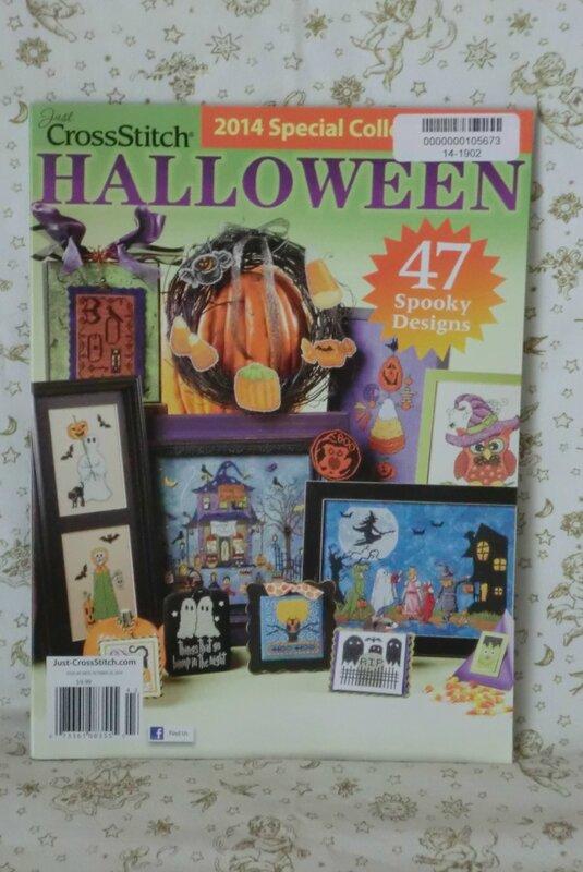calendrier de l'avent 2014 - 7 - crossStich Halloween