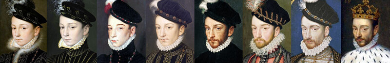 Galerie de portraits de Charles IX