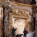 Pils, le chateau de Saint Cloud pendant la guerre franco prussienne, octobre 1870