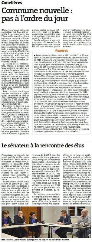 Cunelieres commune nouvelle 18-02-2016