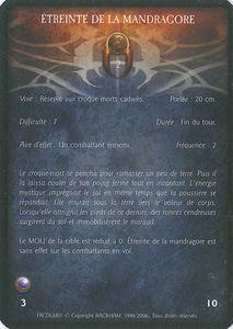 Croque mort 02 - Etreinte de la Mandragore (sort)