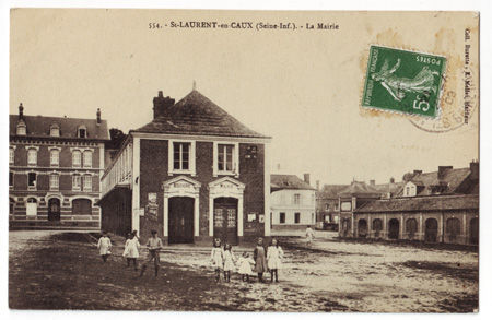 76 - SAINT LAURENT EN CAUX - La Mairie