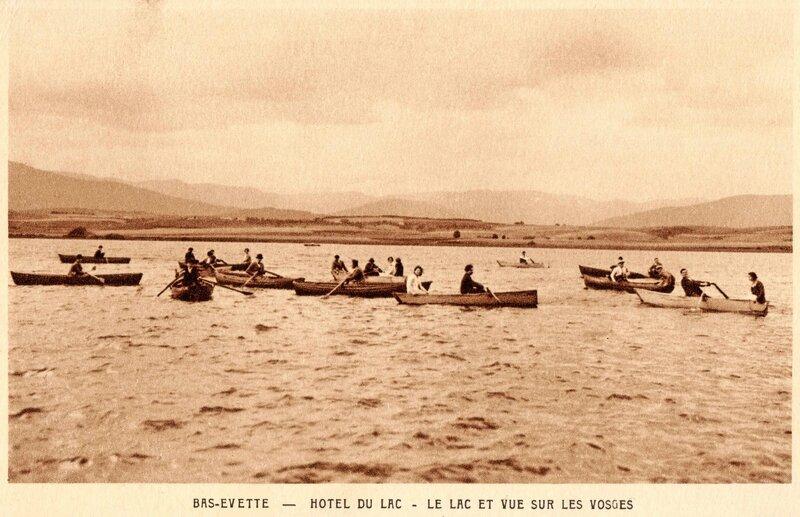 CPA Bas-Evette Lac du Malsaucy img464b