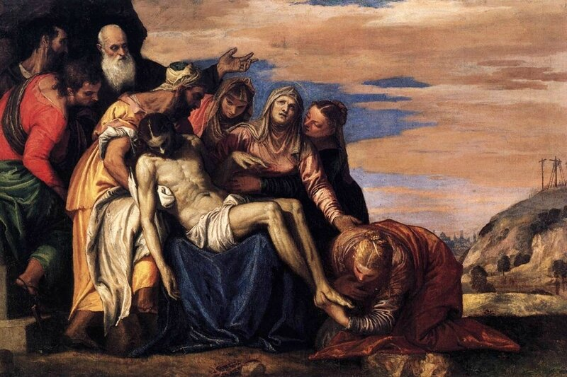 Paolo Veronese, The Descent from the Cross, circa 1547