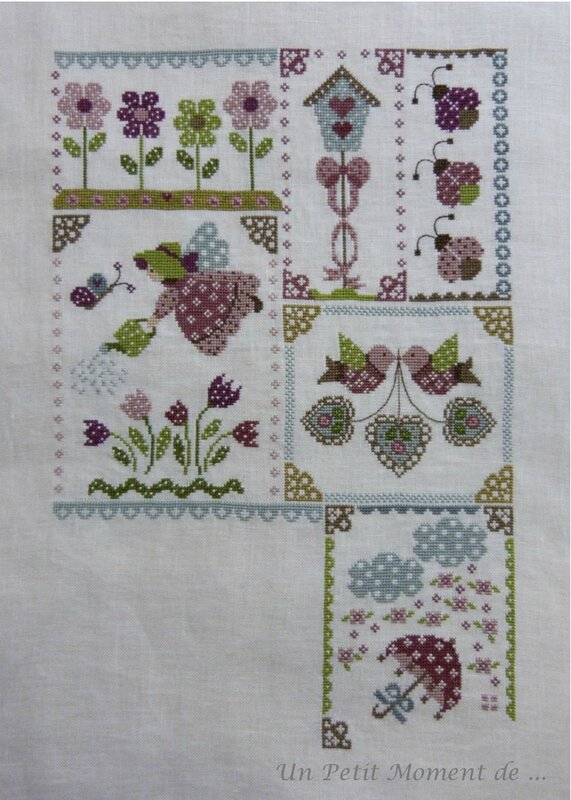SAL Spring in Quilt 7 - 1