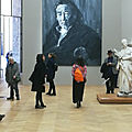Expo yan pey ming / courbet : corps à corps