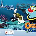 Oggy et les cafards : en ce moment à l'aquarium de paris