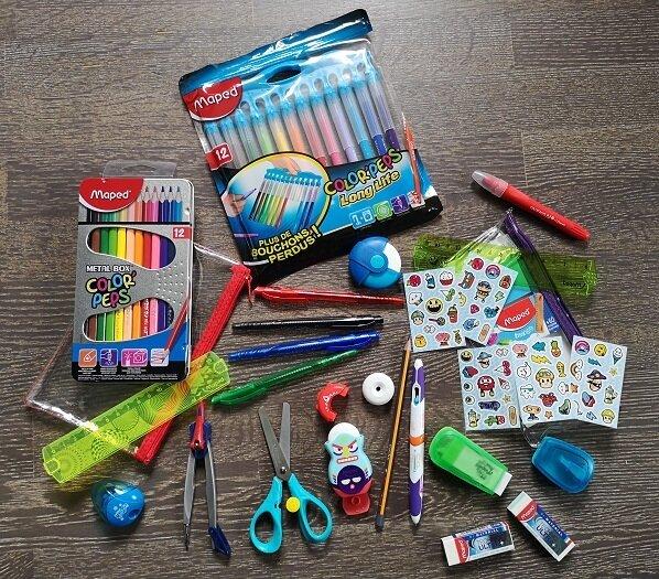 Ma box de fournitures scolaires #MaRentréeMAPED {concours terminé}