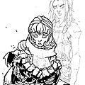 2012-08-29 - Fan art of Joe Madureira's sketch 1