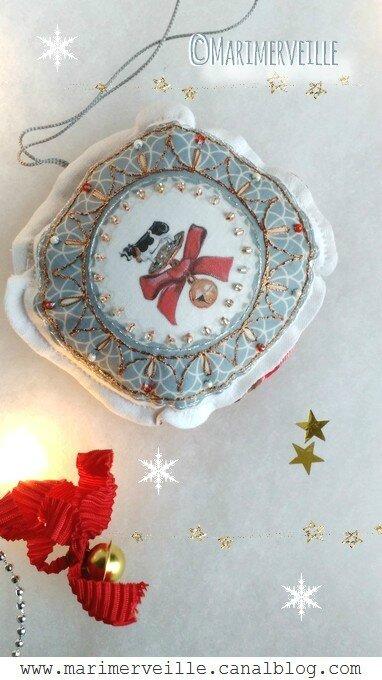 boule de Noël grelot Marimerveille