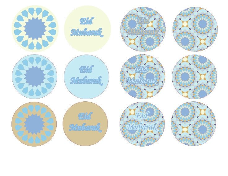 cupcake toppers mosaique 2