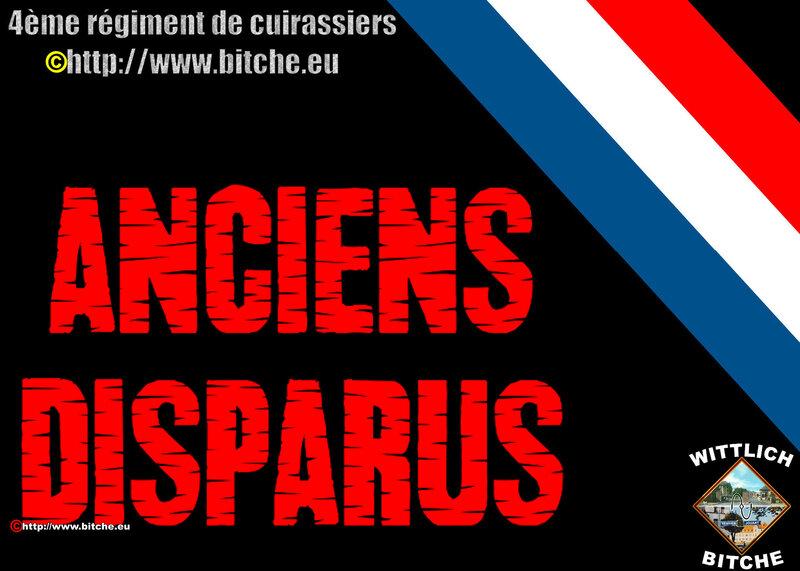 - ANCiENS DISPARUS