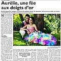 Il était une fois mon premier article dans le journal...