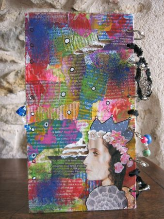 mixed media personnages
