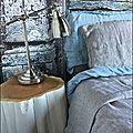Chevet rondin blanc, par Le Meuble du Photographe