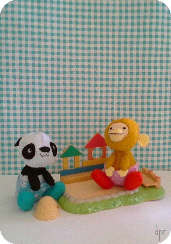 singe et panda