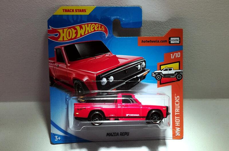 Mazda Repu (Hotwheels)