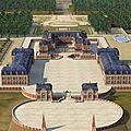 Versailles en maquettes 3d