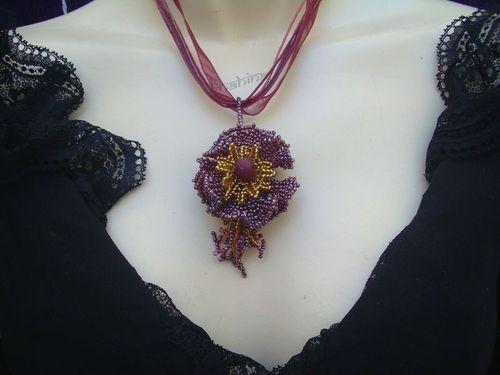 Fleur garnet et or (crea perso) (1)