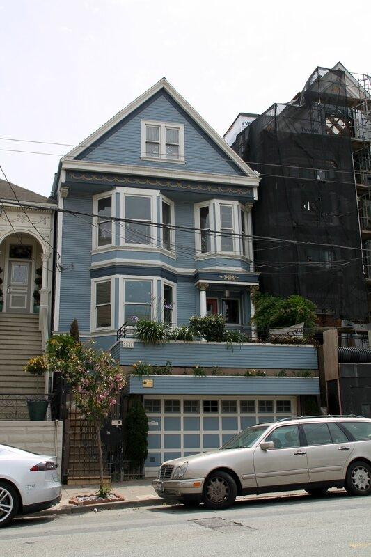 5 maison bleue