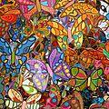 Un arbre papillons