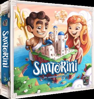 Boutique jeux de société - Pontivy - morbihan - ludis factory - Santorini