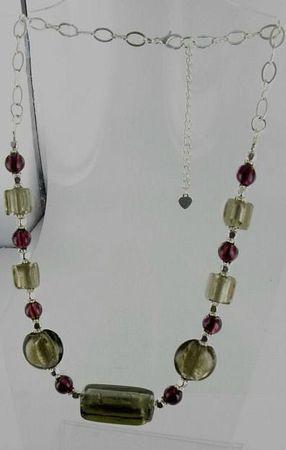 collier perles murano