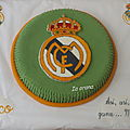 Gâteau Real de Madrid
