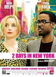 2-Days-In-New-York-Affiche-France