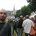 Journée de soutien aux militants de la Confédération Paysanne s'étant opposés au projet de « ferme des 1 000 vaches » devant le Palais de justice d'Amiens, avec Loïc Terlon, Secrétaire Départemental du PG…