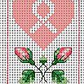 Coeur octobre rose