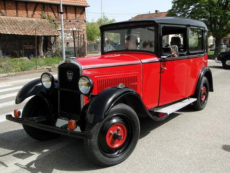 PEUGEOT 201 Berline 1930 Bourse d'Echanges Auto-Moto de Châtenois 2011 1