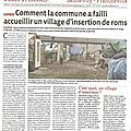 Chaponost a failli accueillir un village d'insertion de roms.