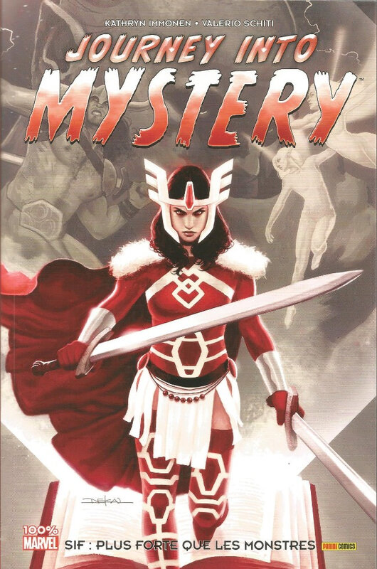 100% marvel journey into mystery 01 sif plus forte que les monstres