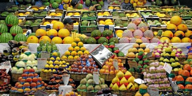 supermarché fruits exotiques