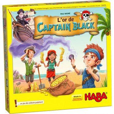 Boutique jeux de société - Pontivy - morbihan - ludis factory - L'Or de Captain Black