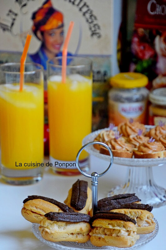 Eclairs thoionade et toast (15)