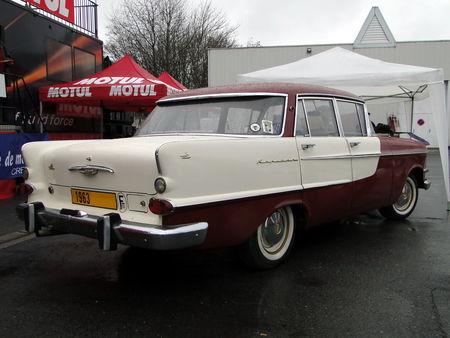 OPEL Kapitan P2 Berline 1963 salon champenois du véhicule de collection de Reims 2011 2
