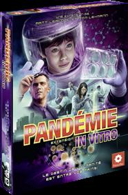 Boutique jeux de société - Pontivy - morbihan - ludis factory - Pandémie in vitro
