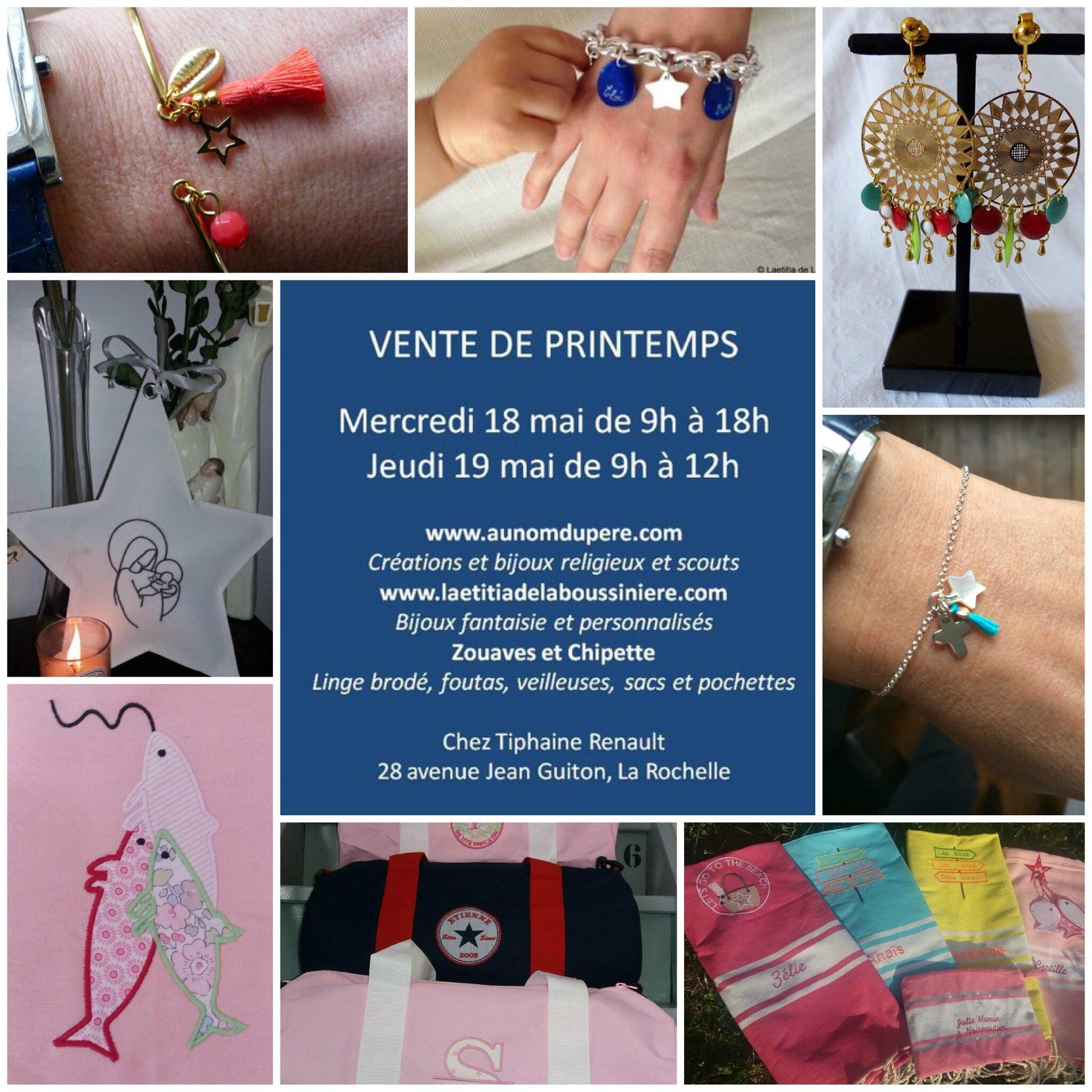 Invitation pour la vente à La Rochelle