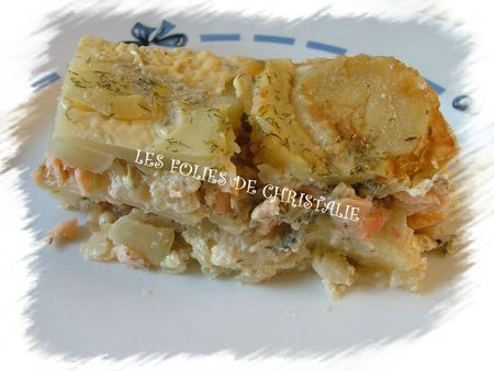 Millefeuille saumon 8