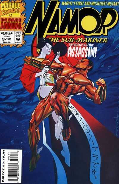 namor the sub-marine 1990 annual 03 1993
