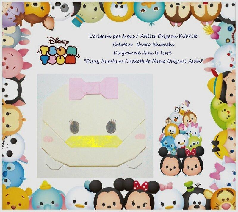 Atelier Origami KitoKito disny tsumtsum Daisy Duck