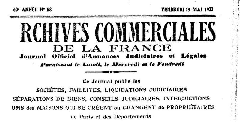 Kerfelec archives commerciales 1933_1